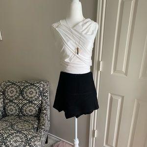 Pants - Black stretchy skorts